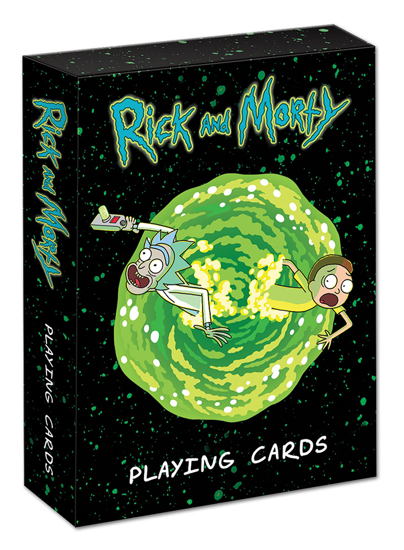 Rick and Morty Illustrated Playing Cards