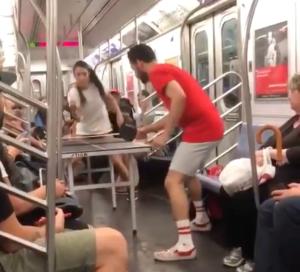 Subway Ping Pong