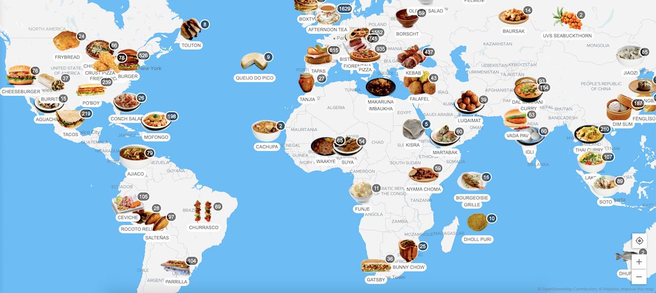 photo of food worldwide
