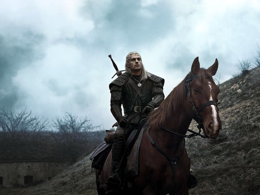 The Witcher and Roach