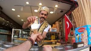 Turkish Ice Cream Vendor Tricks
