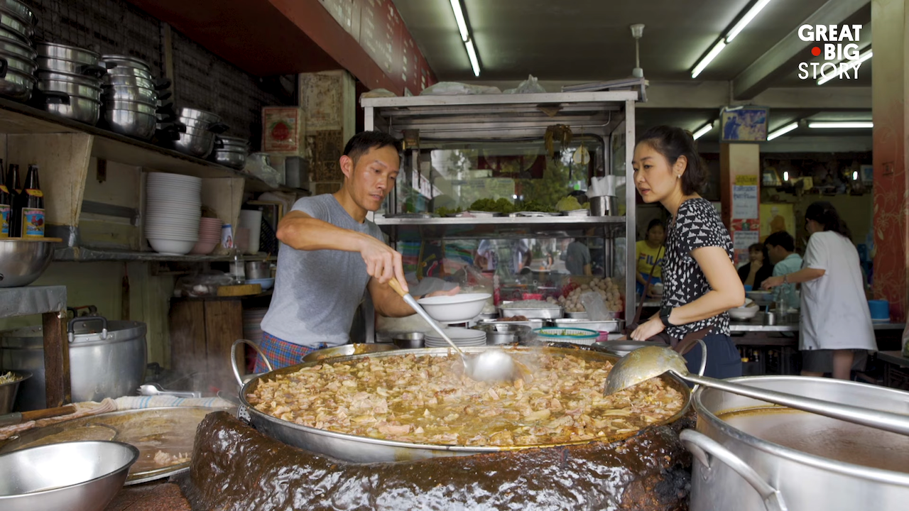 A Restaurant in Bangkok Has Been Simmering Their Renowned Beef Noodle Soup for 45 Years