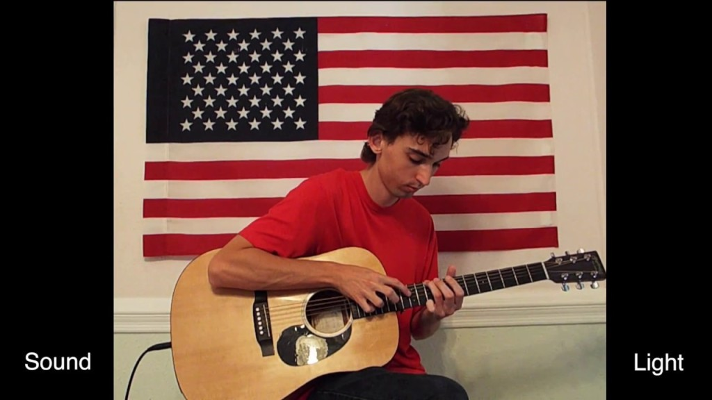 Amazing Grace Star Spangled Banner Sijmultaneously Acoustic Guitar