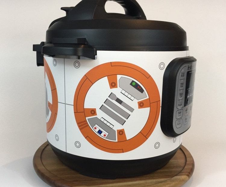 BB8 Droid Instant Wraps