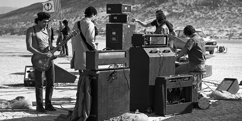 Desolation Center, A Fascinating Film About Early 1980s Anarchic Punk Rock Gatherings in the Desert