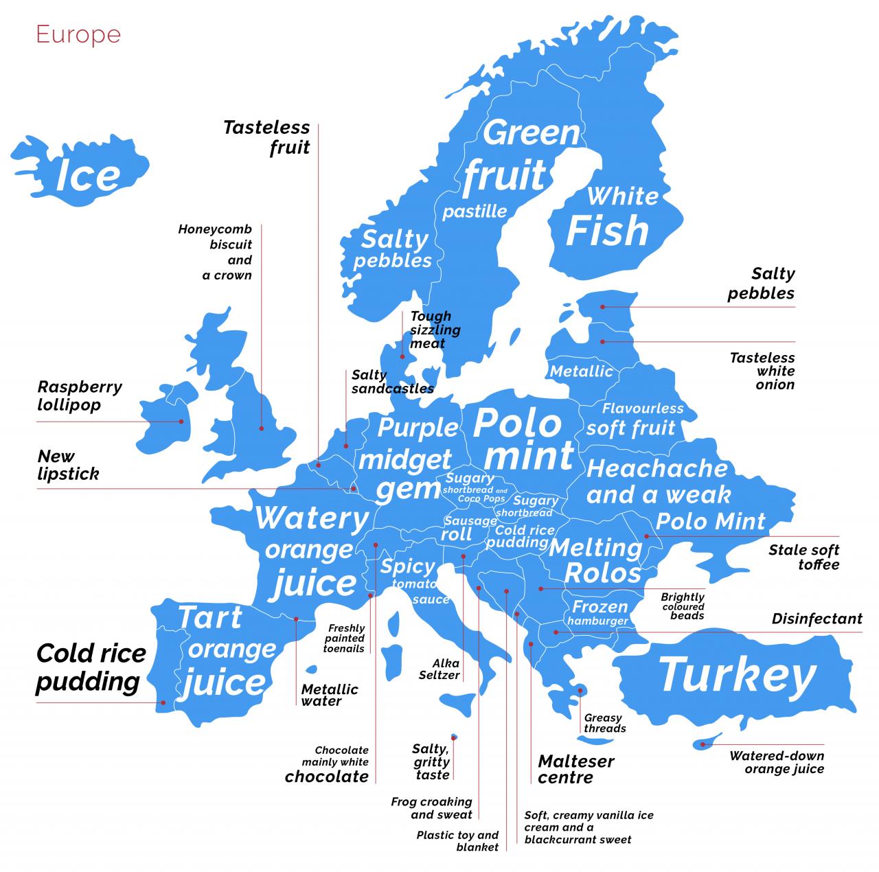 Europe synaesthesia
