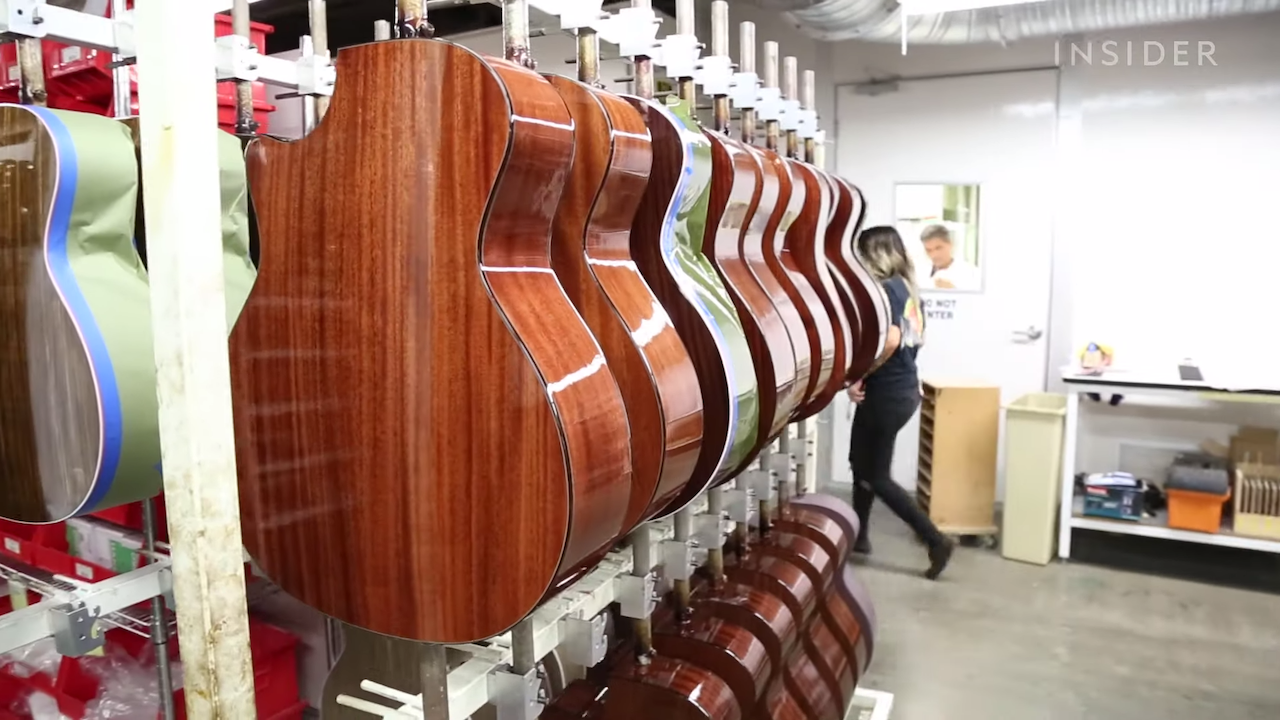 A Look at How Taylor Makes Their Incredible Guitars