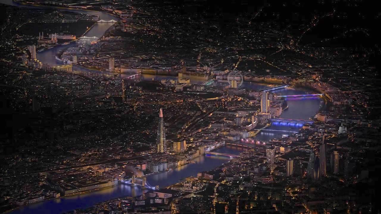 Illuminated River, Bay Lights Artist Plans to Light 15 Bridges in Central London Along the River Thames