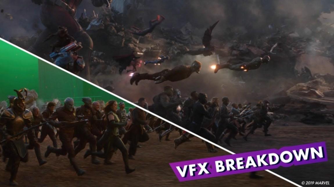 Marvel Avengers Endgame VFX Breakdown