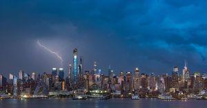 NYC Skyline Timelapse