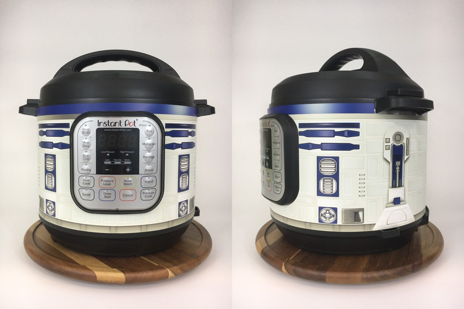 Clever Wraps That Turn Instant Pots Into R2 D2 Or Bb 8