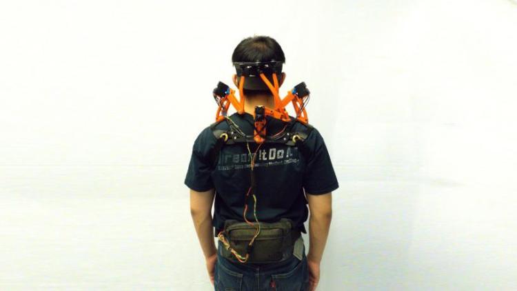Robotic Neck Brace Rear