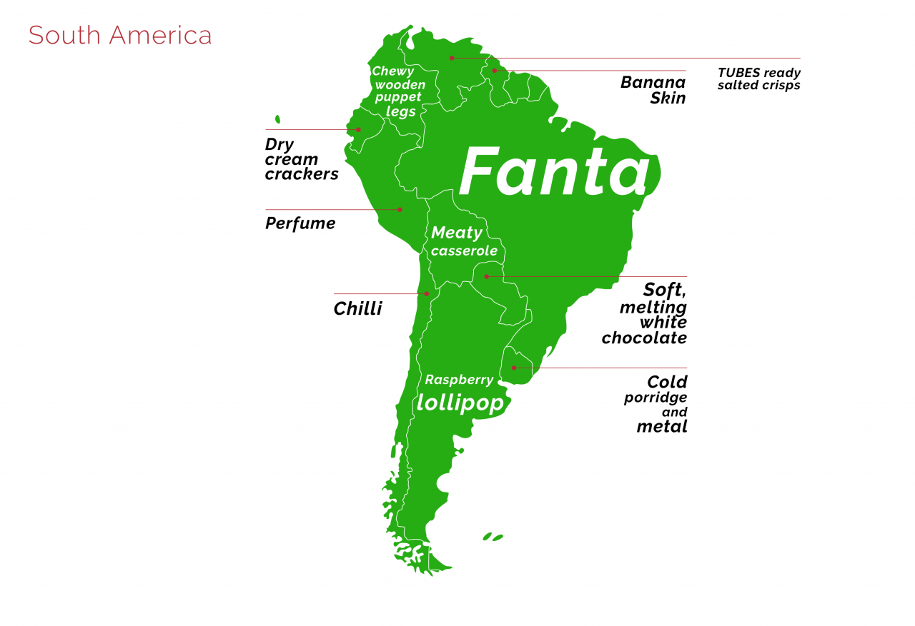 South-America synaesthesia