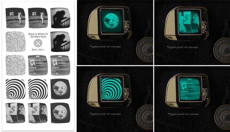 TV Stickers
