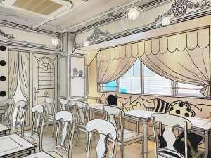 2d Cafe Tokyo Front Door