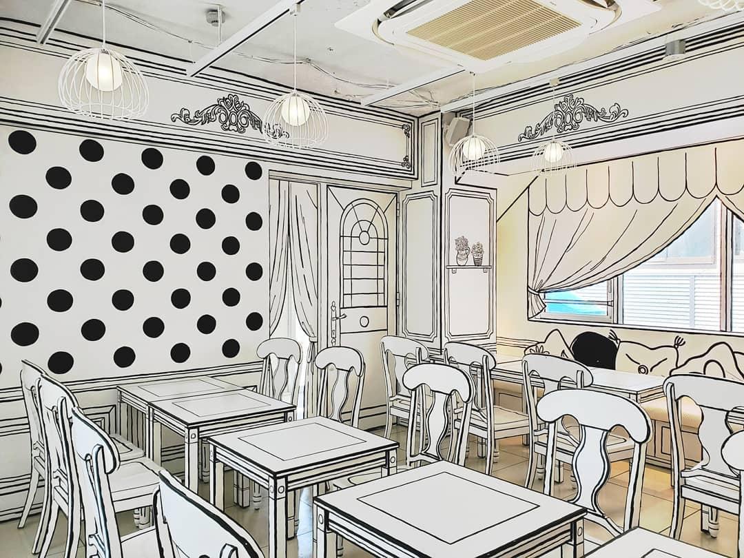 2d Cafe Tokyo Tables