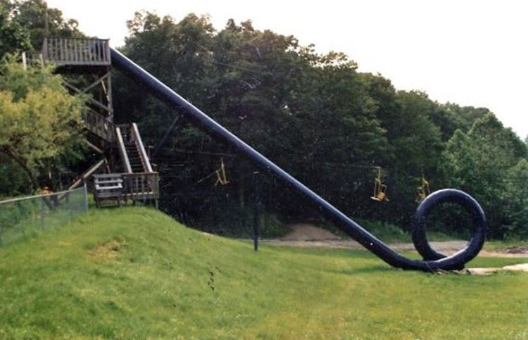 Action Park Water Slide