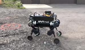 Anymal Hybrid Four Legged Robot
