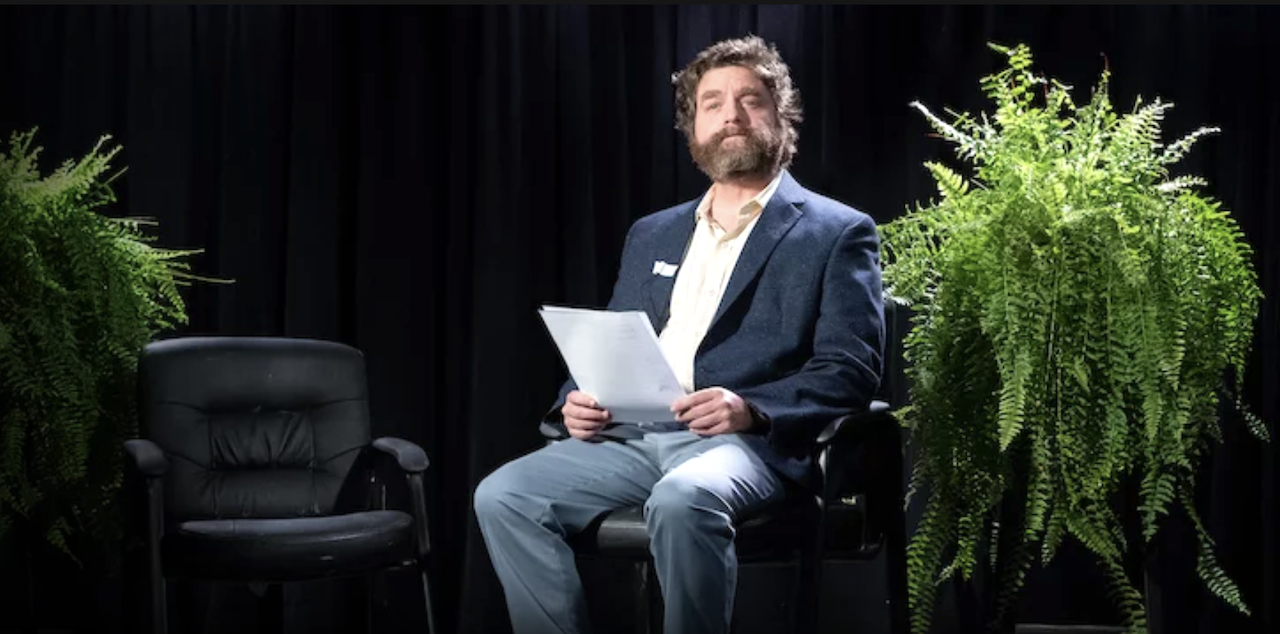 Zach Galifianakis Goes on the Road in the Netflix Mockumentary of His Web Series 'Between Two Ferns'