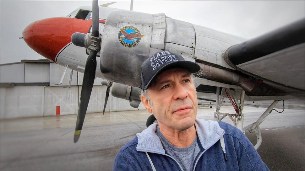Bruce Dickinson DC-3 Plane Savers