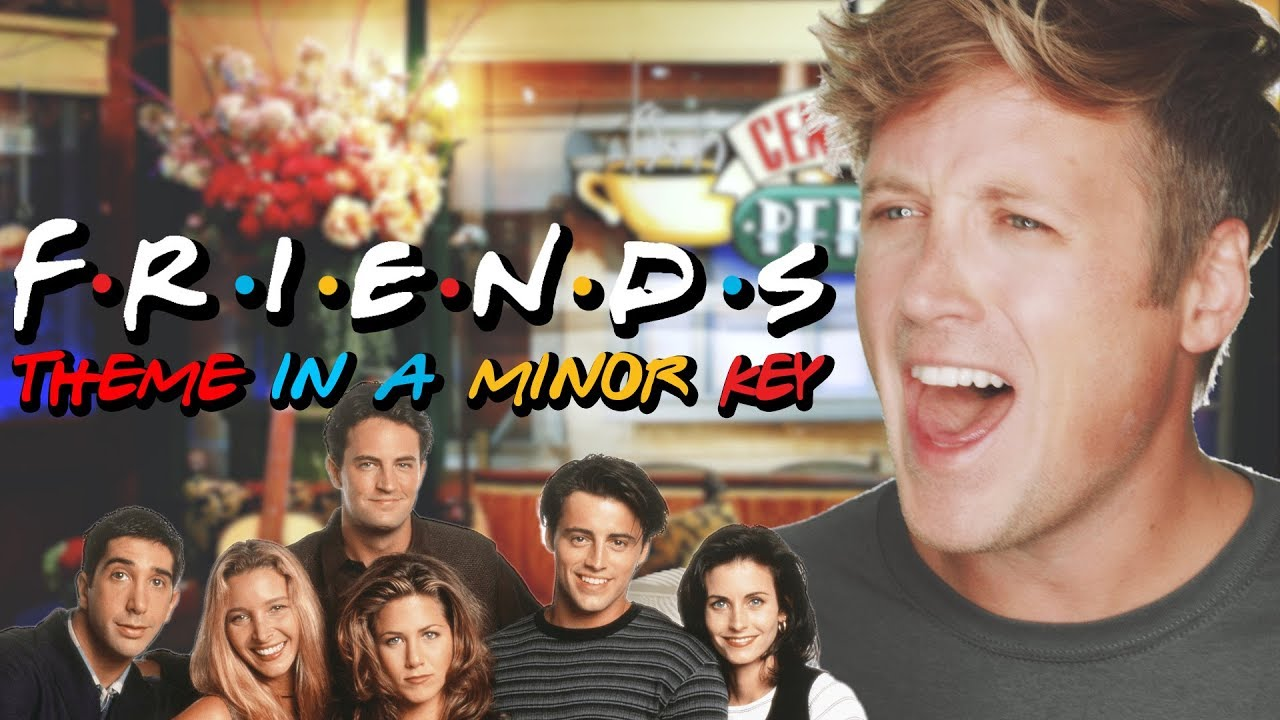 The Peppy Theme From 'Friends' Turns Into a Mournful 1990s Heavy Metal Ballad When Played In a Minor Key