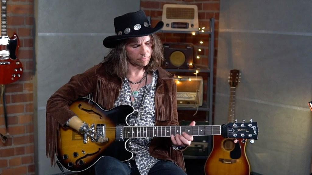 Keith Xander One Handed Guitarist