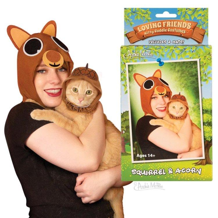 Kitty Cuddles Archie McFee Squirrel Acorn