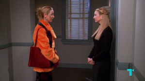 Phoebe and Ursula on Friends