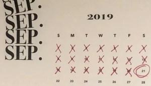 September 21st 2019