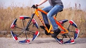 Sneaker Bicycle Wheels