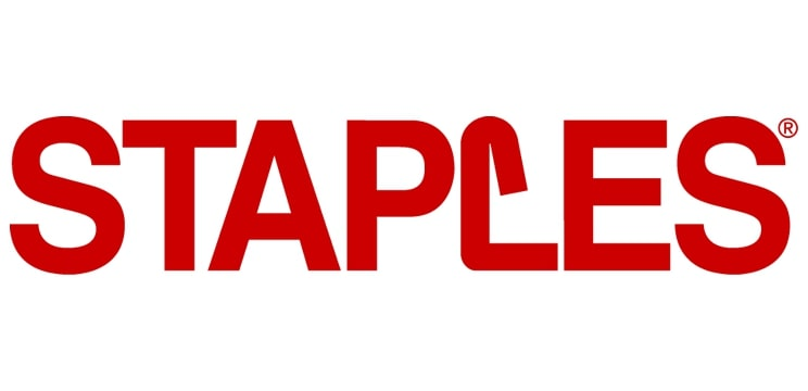 Staples Old Logo
