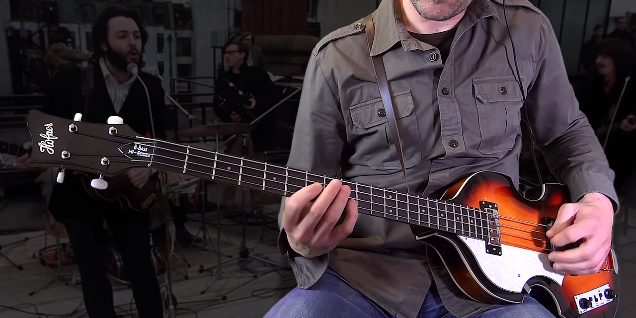 A Remarkable Medley Showing the Evolution of Paul McCartney's Bass Lines Between 1962 and 1970