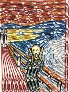 The Scream Edvard Munch Paper Cips