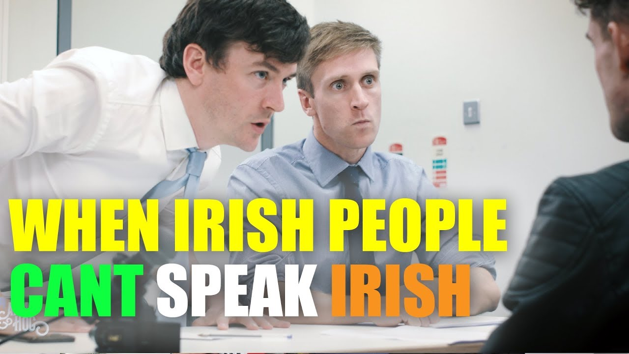 Irish Detective Tries to Interrogate a Gaelic Speaking Suspect With Only Rudimentary Language Skills