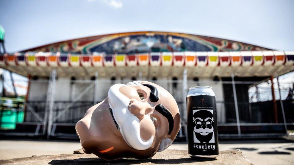 fsociety IPA Coney Island Beer