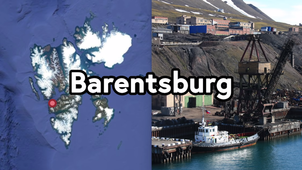 Barentsburg Norway Russia