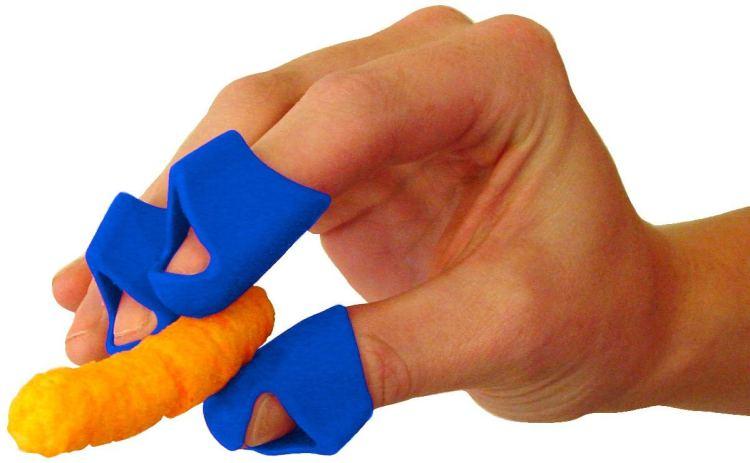 Blue Finger Covers