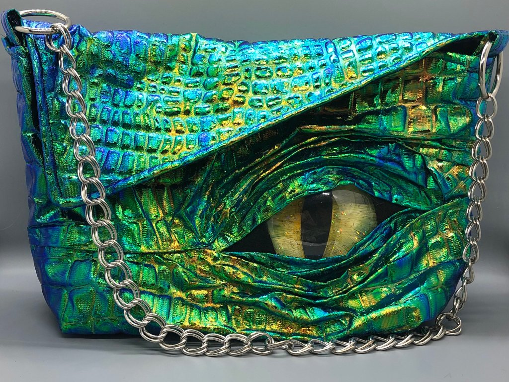 Dragon Metallic Bag