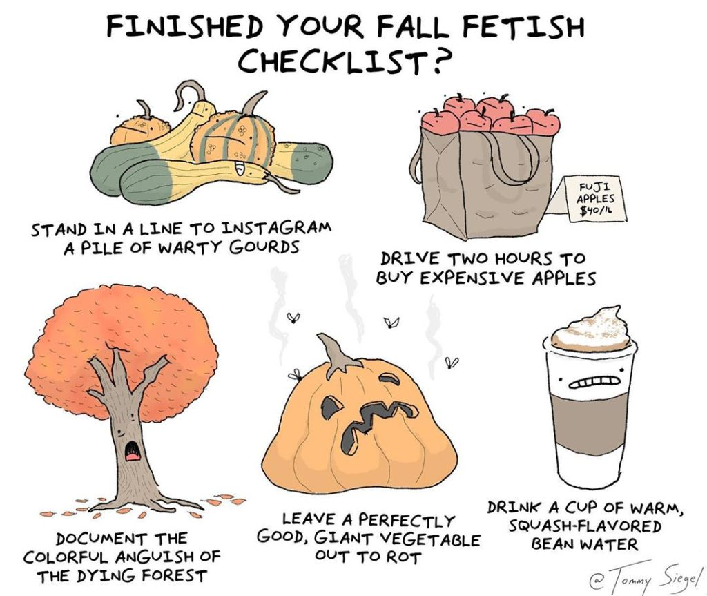 Fall Fetish Checklist