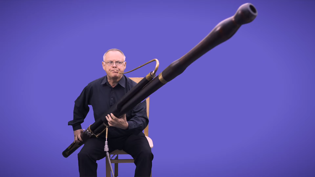 A Performance on a Unique Baroque Contrabassoon