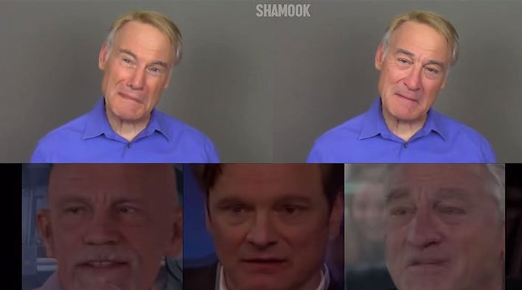 Impressionist Jim Meskimen's Face Morphs Into the Celebrities He's Voicing Using Deepfake AI Technology