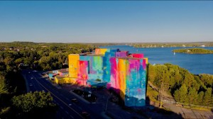 Largest Mural in Canada