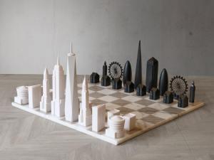 NY v London Skyline Chess