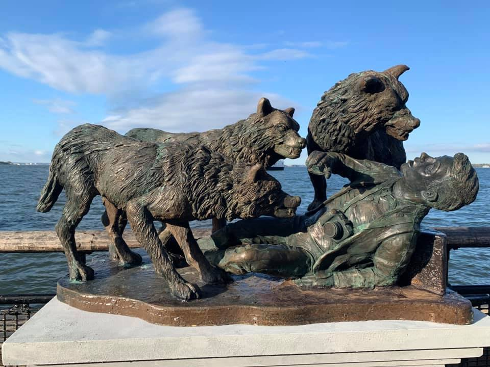 NYC Wolf Memorial