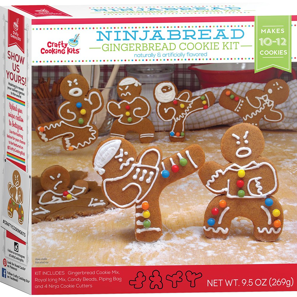 Ninja Gingerbread Man Kit