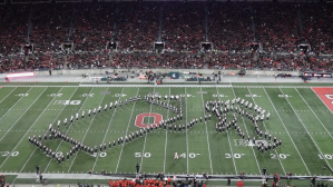 Ohio State Marching Band Moon Tribute