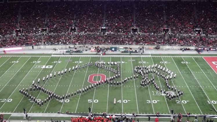Ohio State Marching Band One Giant Leap Neal Armstrong