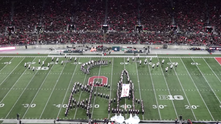 Ohio State Marching Band One Giant Leap Rocket