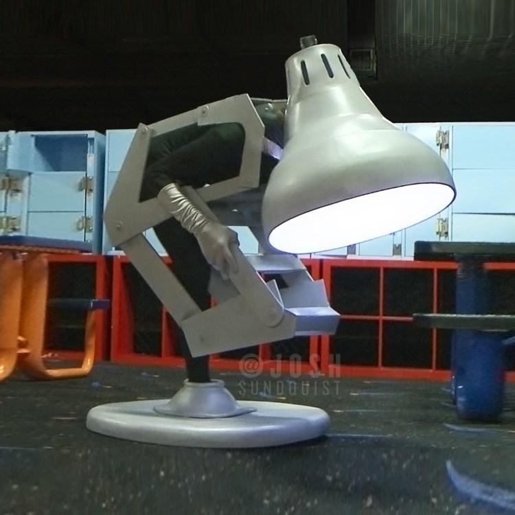 Pixar Lamp One Legged Costume Josh Sundquist