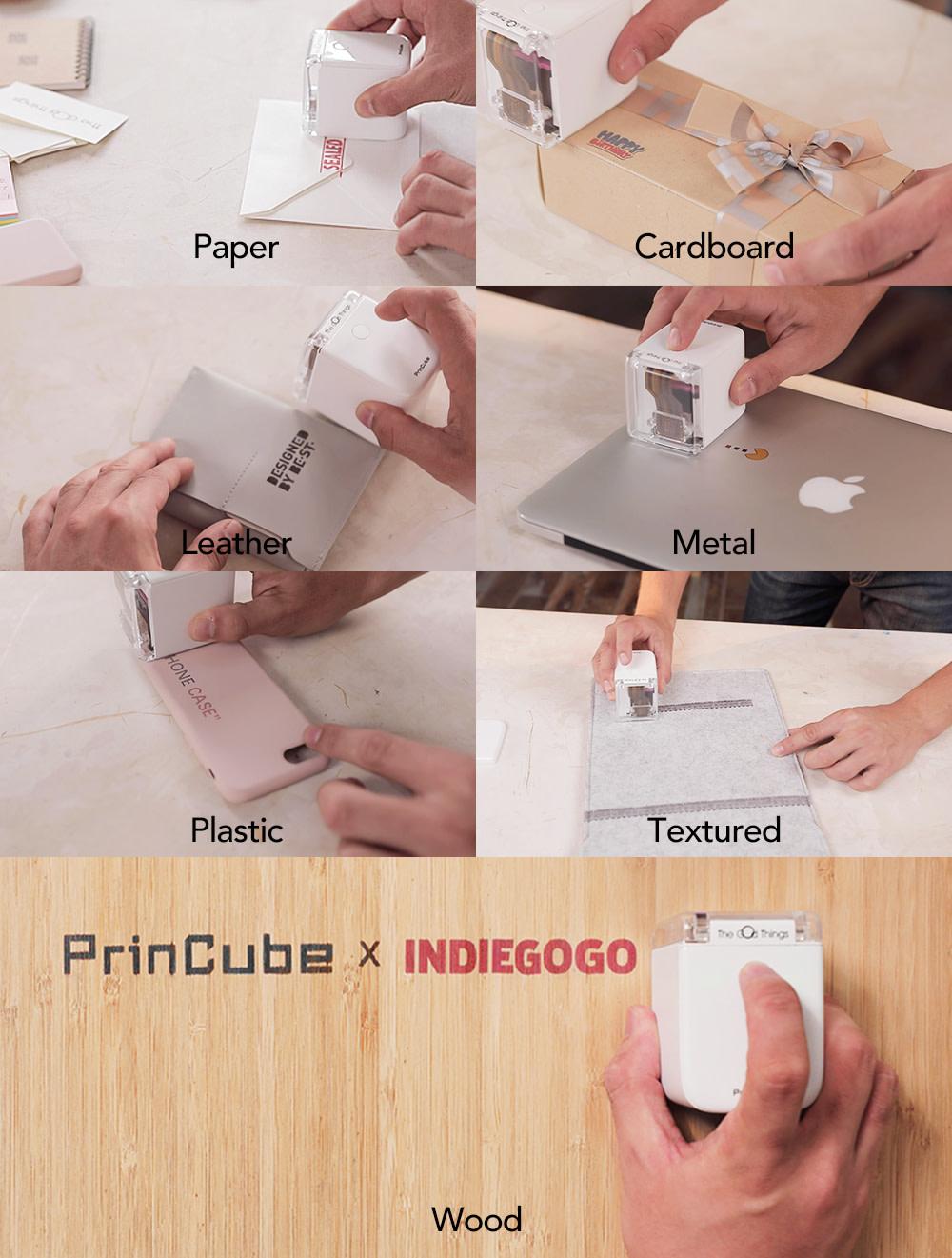 Tekstury PrinCube